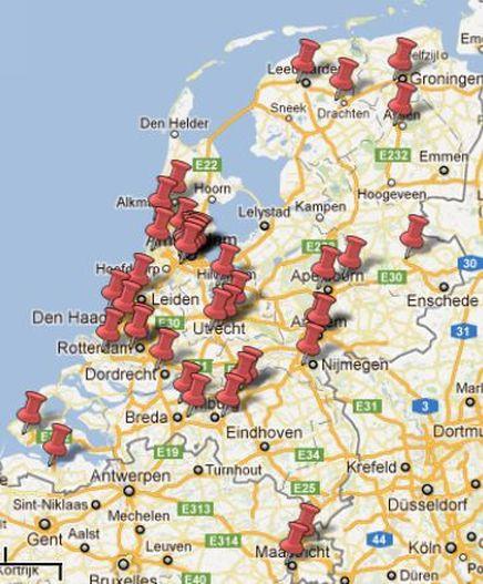 Overzicht locaties Gratis Inloopspreekuren
